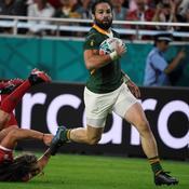 Coupe du monde : 10 essais et un cavalier seul pour l'Afrique du Sud