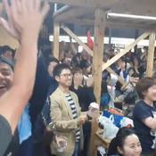 Coupe du monde : la fan-zone d'Oita a vibré à l'exploit des «Brave Blossoms»