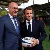 Emmanuel Macron présent lundi au tirage au sort de la Coupe du monde de rugby 2023
