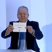 Revivez l'attribution de la Coupe du monde de rugby 2023 à la France