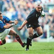 Lomu s'incline contre les Bleus au Mondial 1999