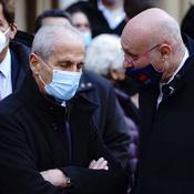 Hubert Falco et Bernard Laporte