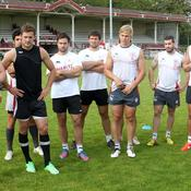 A Biarritz, l'entraînement a repris.