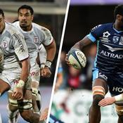 Rory Arnold (Toulouse) et Fulgence Ouedraogo (Montpellier)