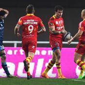 Première victoire pour Perpignan qui fait chuter Montpellier