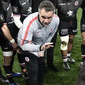 Ugo Mola après la victoire contre Toulon