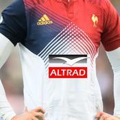 Altrad premier sponsor sur le maillot du XV de France