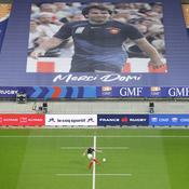 Dominici honoré en son jardin du Stade de France