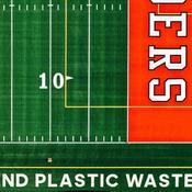 Adidas crée un terrain de sport à partir de déchets plastiques