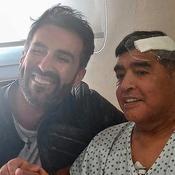 Diego Maradona et son médecin