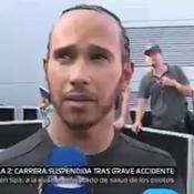 Décès d'Anthoine Hubert: Hamilton choqué en découvrant le crash en direct