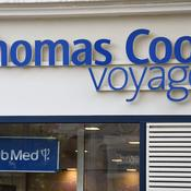 Une agence Thomas Cook voyages