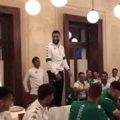 Fekir chante du Sexion d'Assaut pour son bizutage au Betis