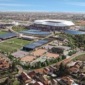L'OL va produire de l'énergie solaire sur l'équivalent de sept terrains de football