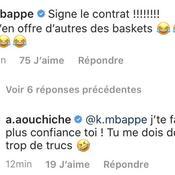 Aouchiche proche de Saint-Etienne, Mbappé lui demande de rester au PSG