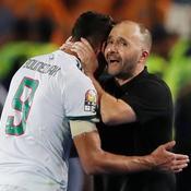 Le sélectionneur de l'Algérie, Djamel Belmadi, répond au tweet de Benzema