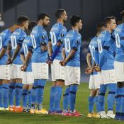 Le superbe hommage des joueurs de Naples et du San Paolo à Diego Maradona