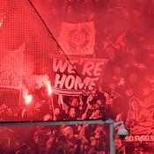 Les supporters du Paris SG manifestent devant le siège du club