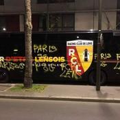 Ligue 1 : le car de Lens vandalisé à Paris, deux personnes interpellées