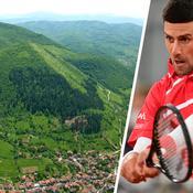 Novak Djokovic se ressource dans des «tunnels énergétiques» en Bosnie