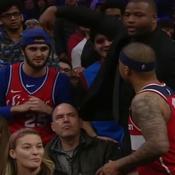 Quand le basketteur Isaiah Thomas s'embrouille avec un spectateur pour une glace