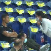 Ronaldo blessé à un orteil... et prié de mettre son masque en tribune