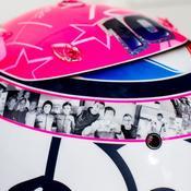 Un casque dédié à son ami Anthoine Hubert pour Pierre Gasly en Belgique