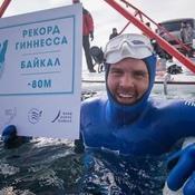 Un plongeur russe descend à 80 mètres de profondeur en apnée, un nouveau record
