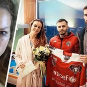 Une journaliste slovaque grièvement blessée à un œil par un palet de hockey