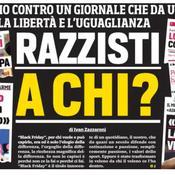 Une «Black Friday» : la réponse du Corriere dello sport aux accusations de racisme