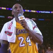 La serviette des adieux de Kobe Bryant après son dernier match vendue 30.000 euros