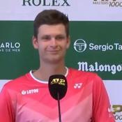 Tennis : «Y-a-t-il des questions ?» : le grand moment de solitude de Hubert Hurkacz en conférence de presse