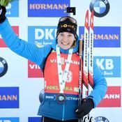 Biathlon : Anaïs Bescond de nouveau sur le podium