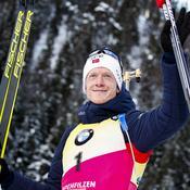 Biathlon : la Norvège continue son carton plein, les Bleus 3es