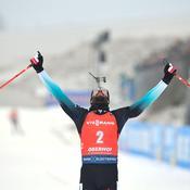 Biathlon : Martin Fourcade fait le plein à Oberhof