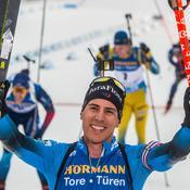Biathlon : Quentin Fillon-Maillet au sommet à Nove Mesto