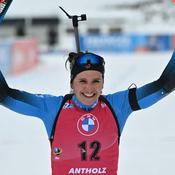Julia Simon récidive et marque le biathlon français