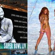 Kobe Bryant, Shakira, Lopez, Trump, les 5 temps forts du Super Bowl