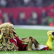 La mascotte des Falcons