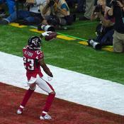 Un touchdown inscrit par les Falcons
