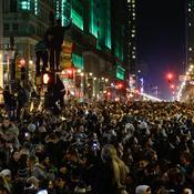 Joie dans les rues de Philadelphie - Eduardo Munoz Alvarez-Getty Images-AFP