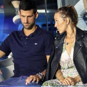 Placés à l'isolement, Djokovic et son épouse testés négatifs