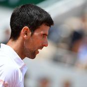 Djokovic tape dur sur dur