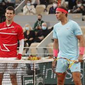 Avis divergents de Nadal et Djokovic à propos de la course aux records