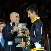 Djokovic choisit de faire équipe avec Agassi