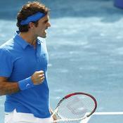 Federer remonte le temps