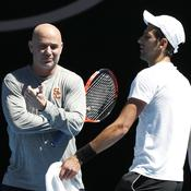 Fin de l'association entre Agassi et Djokovic