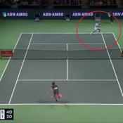 La balle de match qui propulse Federer à la place de n°1