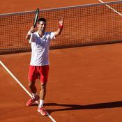 Les larmes de Novak Djokovic à Belgrade