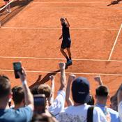 Madrid : Paire s'appuie sur le public pour remporter son deuxième match de l'année